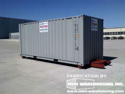 Roll Off Storage Container Modifications In Mansfield Ma
