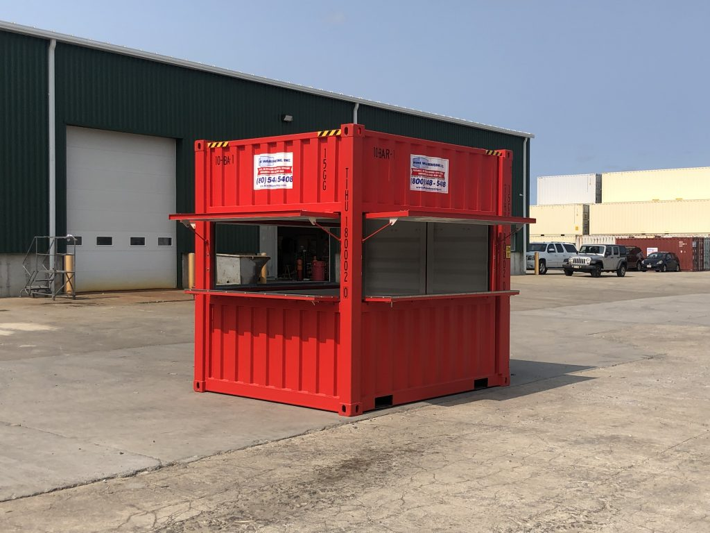 Red Storage Container
